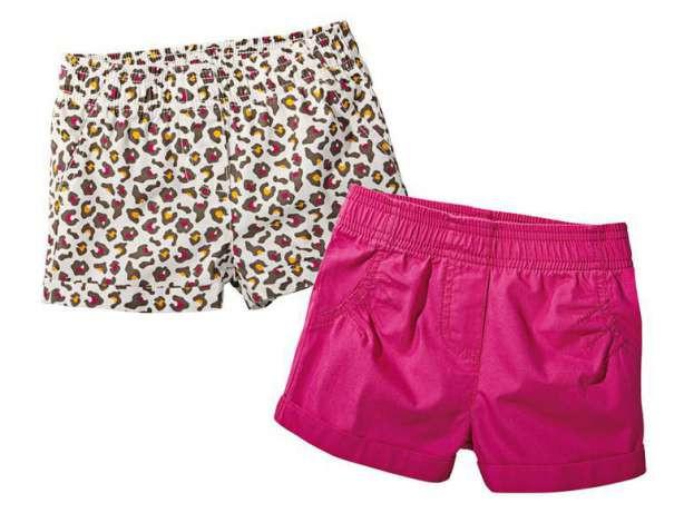 Шорты для девочки розовые Lupilu (Германия) рост 86/92