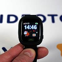 Детские умные часы Q90 Оригинал Черные