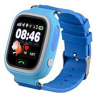 Детские умные часы Q90 Оригинал Синие
