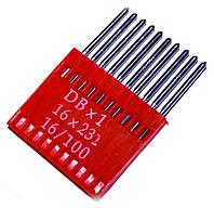 Иглы для промышленных швейных машин MATSA DBx1, 16х231, (16/100)