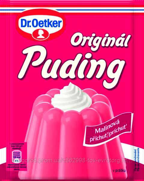 Пудинг малиновый Dr. Oetker Malina 40 гр.