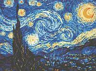 """Рукоделие. Набор алмазной вышивки """"Звездная ночь. Ван Гог"""" 41х55см Цветовых оттенков 24"""