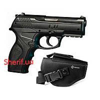Пневматический пистолет Crosman C11 с поясной кобурой 774692