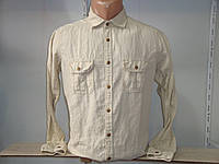 Мужская льняная рубашка с длинным рукавом Scout.