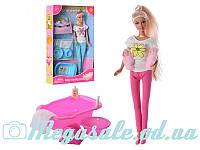 Кукла Defa Lucy 8213 с 2 малышами: ванночка + горшок + аксессуары