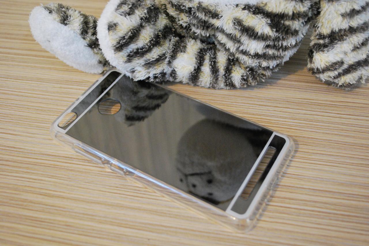 Силиконовый зеркальный чехол для Xiaomi Redmi 3s, S86