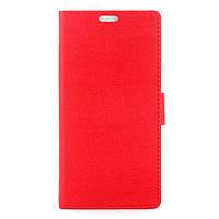 Чехол книжка TPU Wallet Stand для ZTE Blade A610 красный