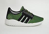 Кроссовки  мужские зеленые сетка  Даго