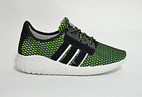 Кроссовки  мужские зеленые сетка  Даго, фото 1