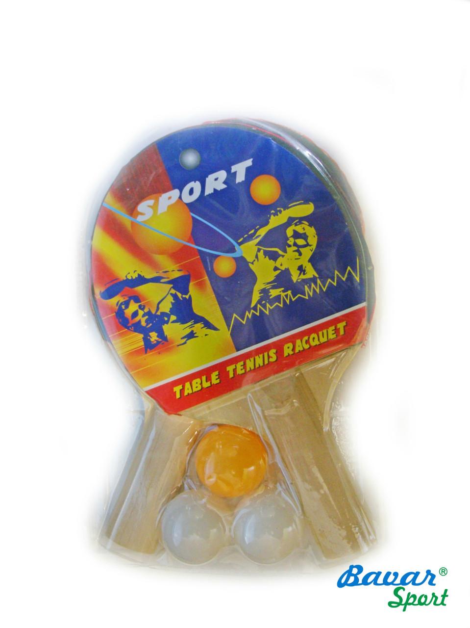 Ракетки для пинг-понга с мячиками - Karman Store в Одессе
