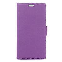 Чехол книжка TPU Wallet Stand для ZTE Blade A610 фиолетовый