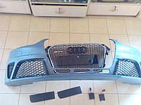 Бампер Audi A4 стиль RS4