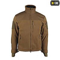 Флисовая куртка Alpha Microfleece Jacket Coyote M-TAC, фото 1