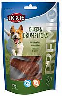 Лакомства для собак TRIXIE Chicken Drumsticks с мясом птицы 95гр