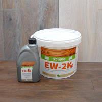 Двухкомпонентный полиуретановый клей Ecowood EW-2K (10кг)
