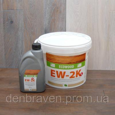 Двухкомпонентный полиуретановый клей Ecowood EW-2K (10кг), фото 2