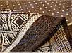 """Безворсовый ковер-рогожка """"Строгий"""" - цвет - коричневый, фото 3"""