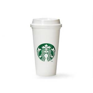 Чашка керамическая Starbucks White