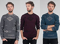 Мужской свитер с узором 3002 (р.48-52)