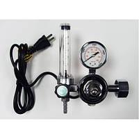 Регулятор расхода газа универсальный (Ar/CO2) с подогревателем 36В