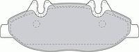 Оригинальные передние колодки Mercedes SPRINTER, Mercedes VIANO, Mercedes VITO  от 2006г.