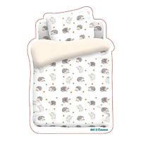 Постельное белье Непоседа, в детскую кроватку, дизайн 8813 вид 1 Ёжики