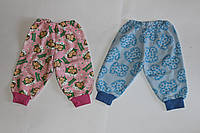 Детские штанишки под памперс Начес Размер 62 - 80 см