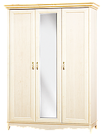 Шкаф 3Д Селина (SM), трехдверный шкаф с комплекта модульной детской спальни 1550*2090*655