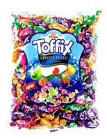 Конфеты фруктовые Toffix Center Filled fruit Chew 1000 гр