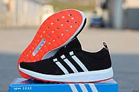Женские кроссовки Adidas Bounce черные 1882