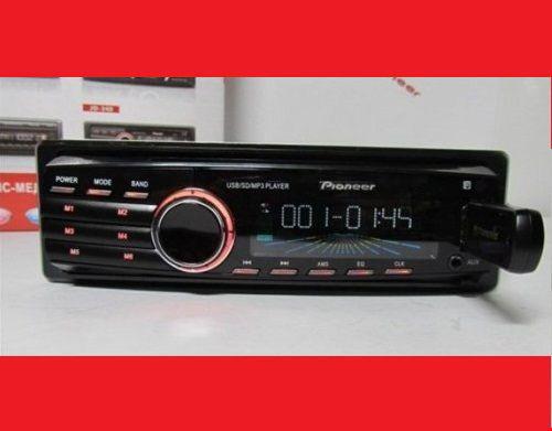 Автомагнитола Pioneer 340 на флешках USB+SD