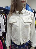 Пиджак джинсовый белый Wild West