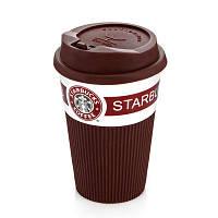 Чашка керамическая StarBucks Brown