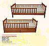Карина кровать деревянная