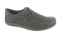 Туфли черный мужские на шнурках Comford M-9
