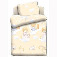 Постельное белье Непоседа, в детскую кроватку, дизайн Ангелочки
