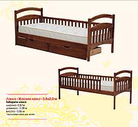 Жасмин люкс деревянная кровать