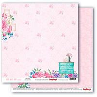 Бумага для скрапбукинга 30,5*30,5 190 гр/м Уютная мастерская Любимый комод Scrapberry's