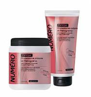 BRELIL Numero Маска для защиты цвета волос с экстрактом граната 1000мл