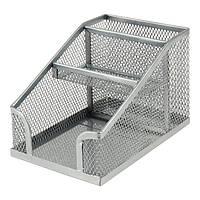 Подставка-органайзер Axent 100x143x100мм метал серебр 321902118-03-A