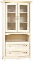 Шкаф витрина Селина (SM), элемент к комплекту детской модульной спальни Селина 1100*2090*510
