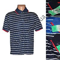 Мужская котоновая футболка-поло T3 (в уп. до 5 разных расцветок) оптом со склада в Одессе