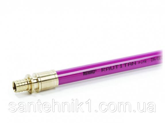 Труба полиэтиленовая REHAU RAUTITAN pink 16х2,2 мм для систем отопления, фото 2