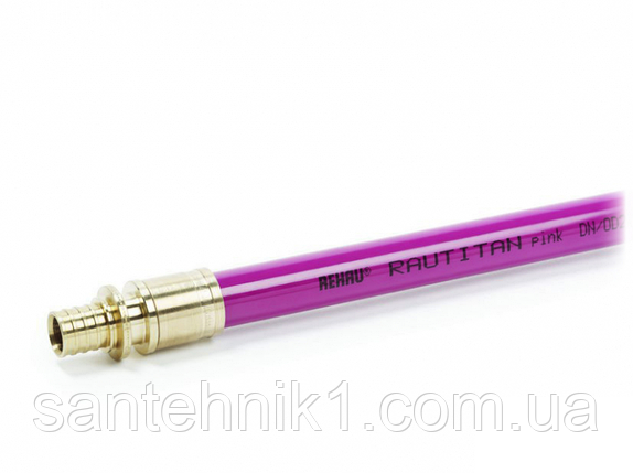 Труба REHAU RAUTITAN pink 25х3.5 мм для систем отопления, фото 2