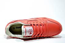 Кроссовки женские в стиле Reebok Classic Leather, Coral, фото 2