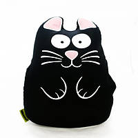 Мягкая игрушка-антистресс «Ручной кот», черный