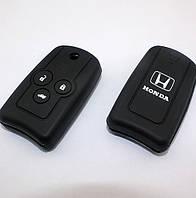 Чехол для ключа автомобиля Honda Accord CRV Crosstour CIVI 3 Кнопки с логотипом.