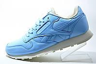 Кроссовки женские Reebok Classic Leather, Blue
