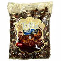 Конфеты с кофейной начинкой Toffix Center Filled Coffee Chew 1000 гр