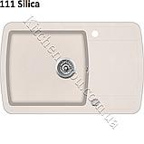 Гранітна мийка AquaSanita Lira SQL-101 (780х500 мм.), фото 4